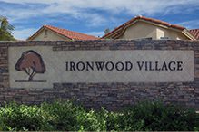 Ironwood Village 55+ Active-Adult Community front gate image