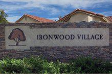 Ironwood Village 55+ Active-Adult Community front gate image