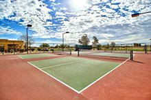 Mission Royale tennis courts image