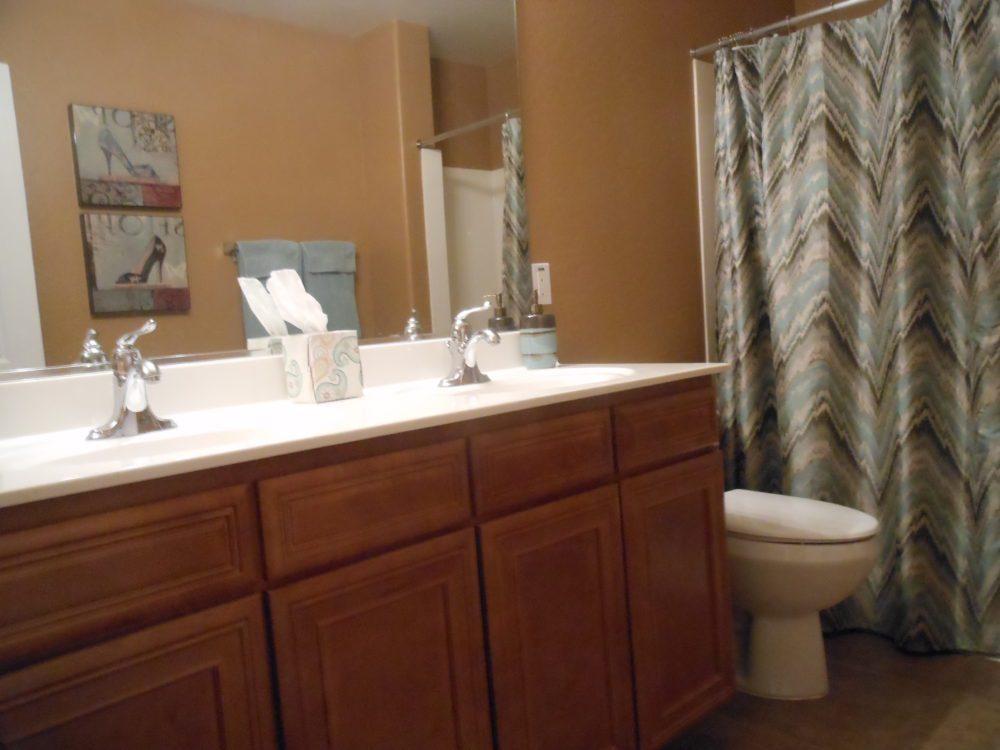2373 E. Santiago Tr. Guest Bathroom