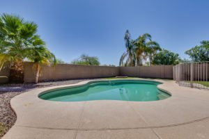 Home for Sale 1550 N. Desert Willow Ave Backyard, Swimming pool, Fun in the Sun