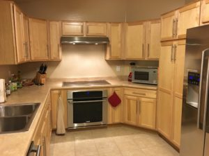 Beautiful Upgraded Kitchen, Induction Stove, Upgraded Cabinets, Stainless Steel Appliances,