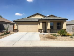 Rental, 1136 E. Barrus Dr, Cottonwood Ranch, Front View, Desert Landscape, Upgrades,