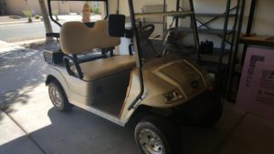 Golf Cart, Included Full Price Offer