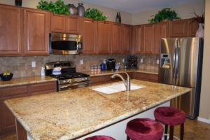 Granite Counter-tops, Stainless Steel Appliances, Plenty of Counter Space & Cabinets