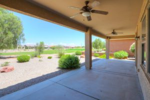 Back Yard, Covered Patio, Ceiling Fans & Lights, Desert Landscape, Golf Course Views