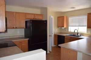 Kitchen, Walk in Pantry, Black Appliances