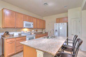 Granite Counter-tops, recessed lighting, pantry