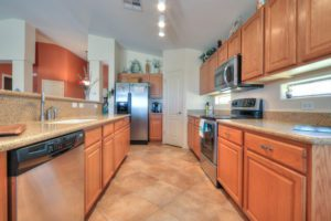 Stainless Steel Appliances, granite counter-tops