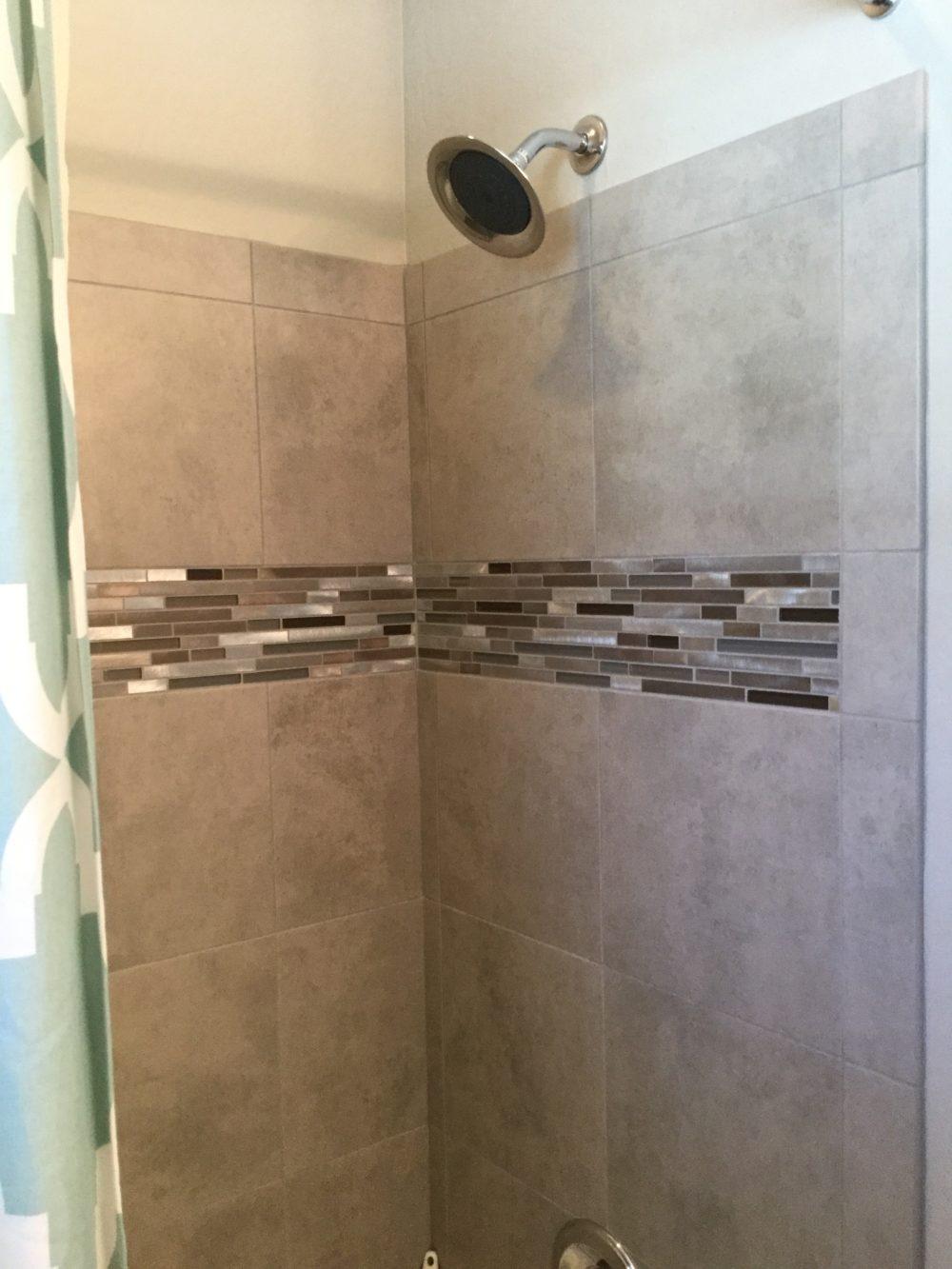 Spare shower